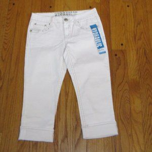 NWT HYDRAULIC BAILEY LOW RISE CROP JEANS 9/10
